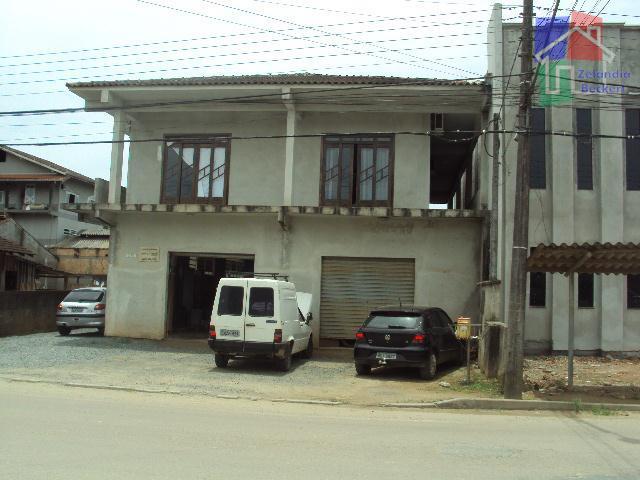 Sobrado comercial e residencial à venda, Vila Nova, Joinville.
