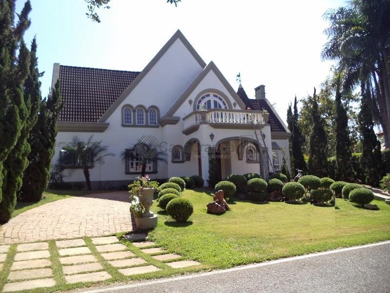 Sobrado residencial para venda e locação, Lago Azul Condomínio e Golfe Clube, Araçoiaba da Serra - SO1904.