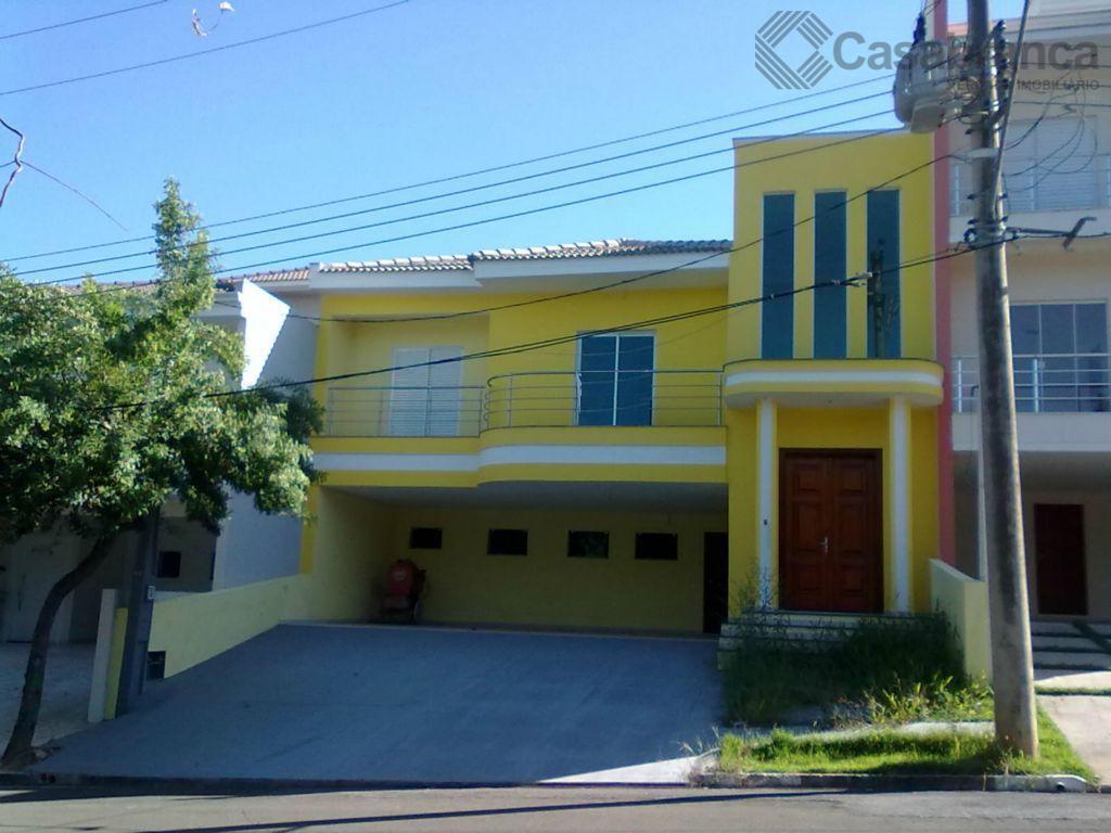 Sobrado residencial à venda, Condomínio Lago da Boa Vista, Sorocaba - SO0948.