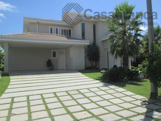 Sobrado residencial à venda, Lago Azul Condomínio e Golfe Clube, Araçoiaba da Serra - SO0991.