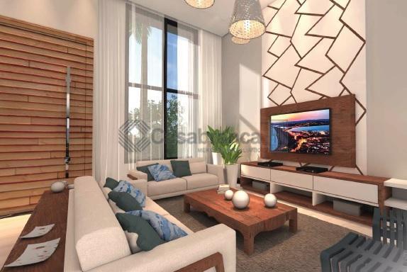 linda casa térrea com previsão de entrega pra abril de 2019.3 suítes, sala 3 ambientes, cozinha...