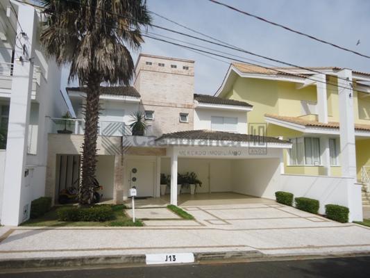 Sobrado residencial à venda, Condomínio Lago da Boa Vista, Sorocaba - SO3666.