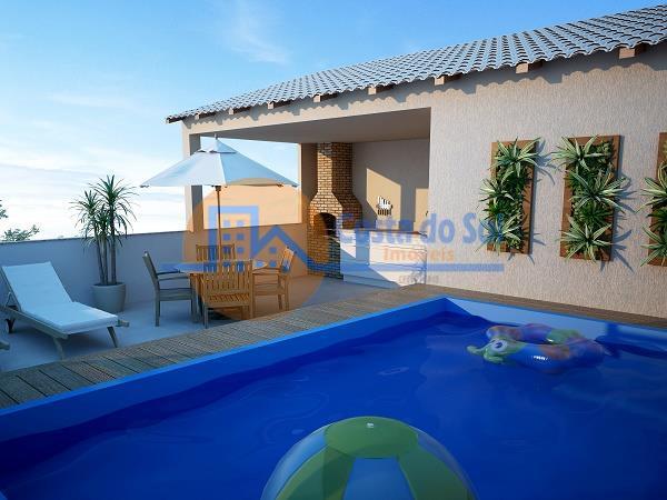 Casa Triplex à venda, cobertura com Piscina e churrasqueira, Chácara Mariléa, Rio das Ostras.