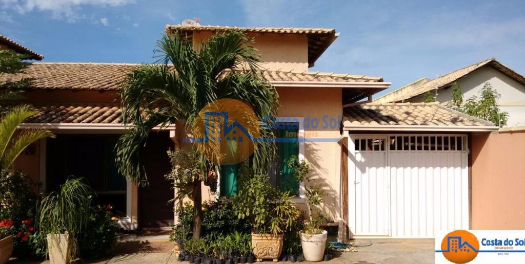 Casa linear em lindo condomínio, Jardim/Chácara Mariléa, Rio das Ostras.