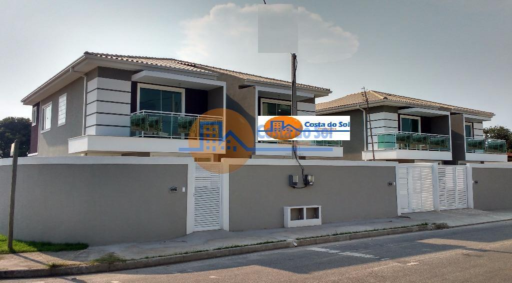 Casas duplex a 100m da Rodovia, Jardim Mariléa, Rio das Ostras.