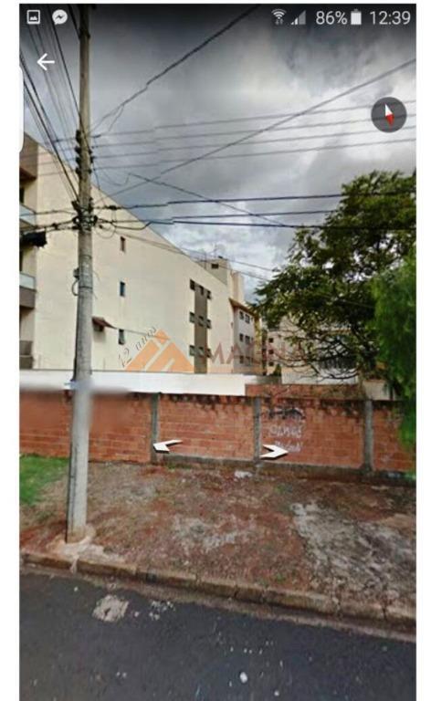 Terreno residencial à venda, Vila Ana Maria, Ribeirão Preto.