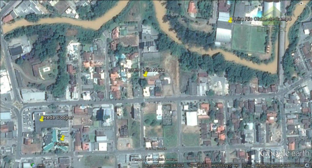 Terreno residencial à venda, Vila Nova, Jaraguá do Sul.