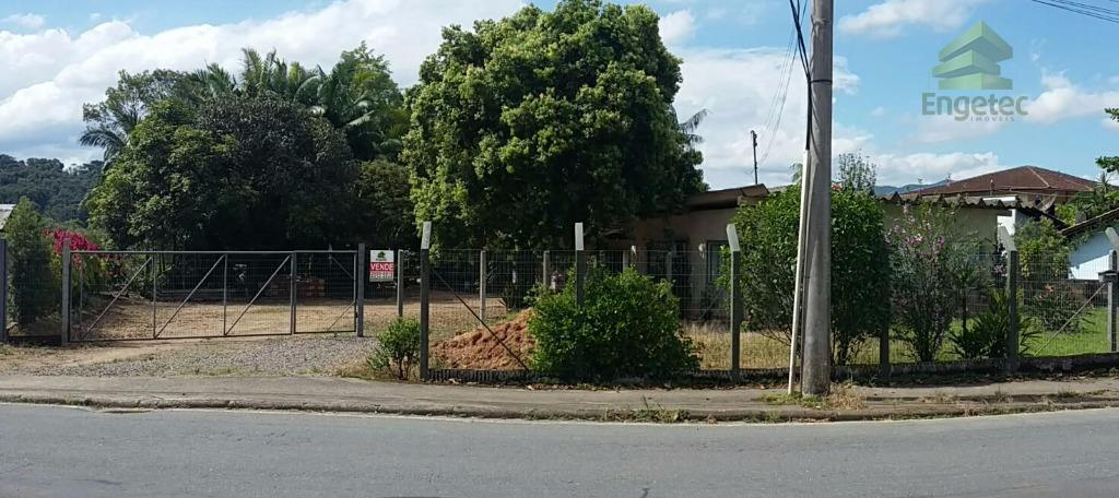Terreno residencial à venda, Parque Malwee, Jaraguá do Sul.