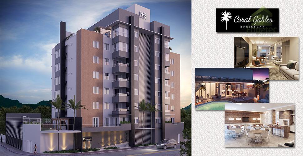Apartamento residencial à venda, Nova Brasília, Jaraguá do Sul.
