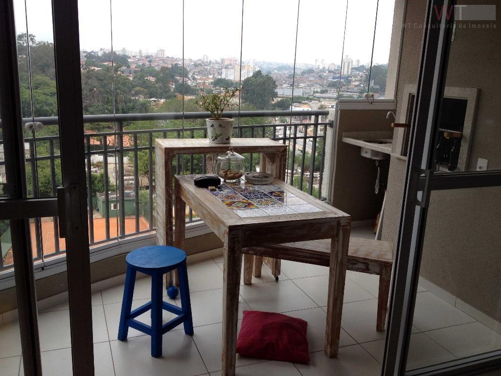 Campo Belo/Jardim Aeroporto com Varanda Gourmet