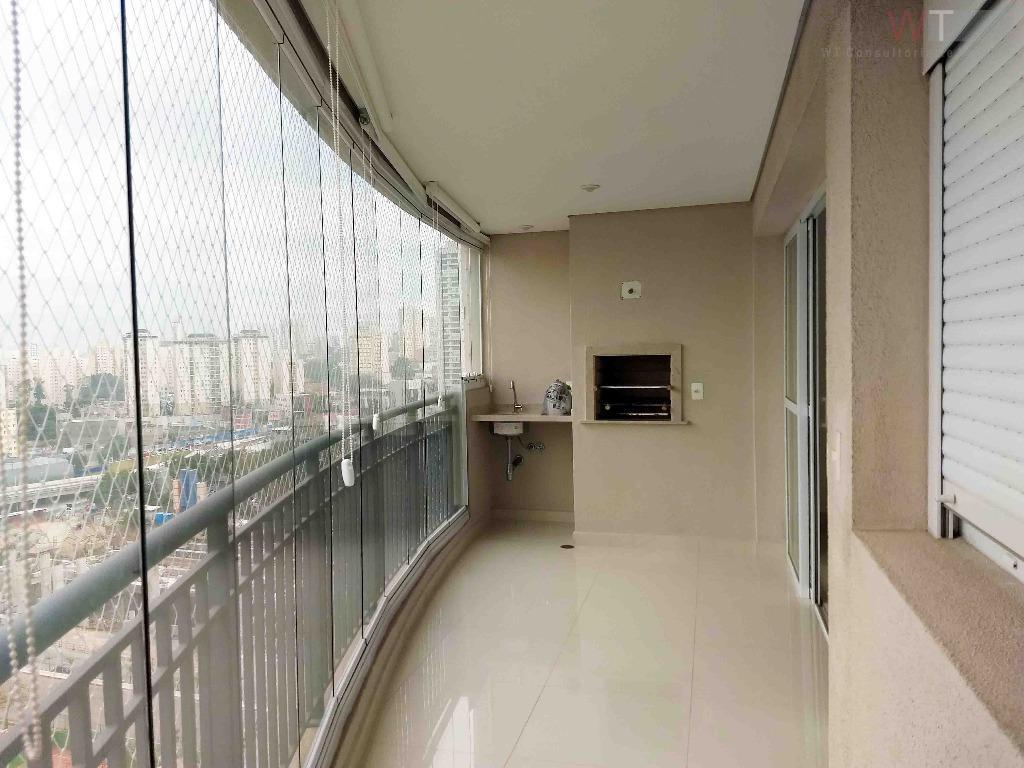 Apartamento residencial para locação, Campo Belo/Jardim Aeroporto, São Paulo.