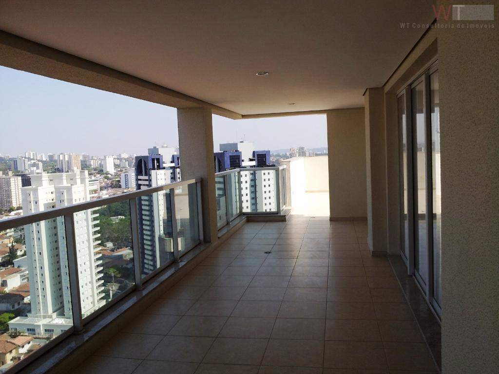 Cobertura residencial para venda e locação, Brooklin, São Paulo.