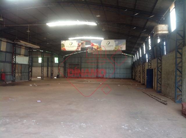 Galpão à venda Parque Industrial Tanquinho - Ribeirão Preto/SP