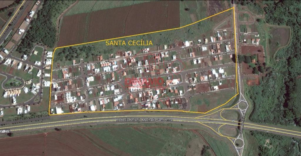 bairro santa cecília, terreno 10 x 20 = 200 m2.