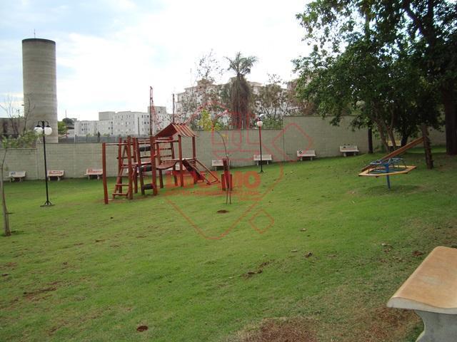 Apartamento com 2 dormitórios para alugar, 46 m² por R$ 700/mês - Sumarezinho - Ribeirão Preto/SP