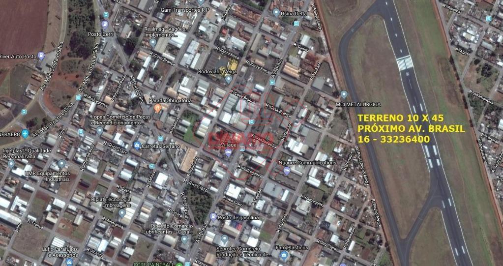 Terreno industrial à venda, Jardim Esmeralda, Ribeirão Preto