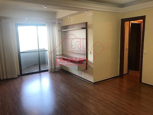 lindo aptº., 03 dormitórios (01 suíte), rico em armários, sala 02 ambientes c/ painel e iluminação,...