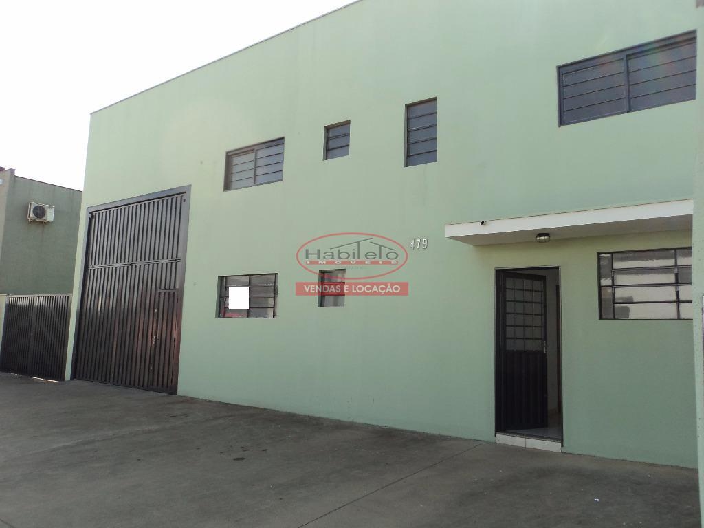 Barracão comercial para locação, Distrito Industrial, Brodowski.