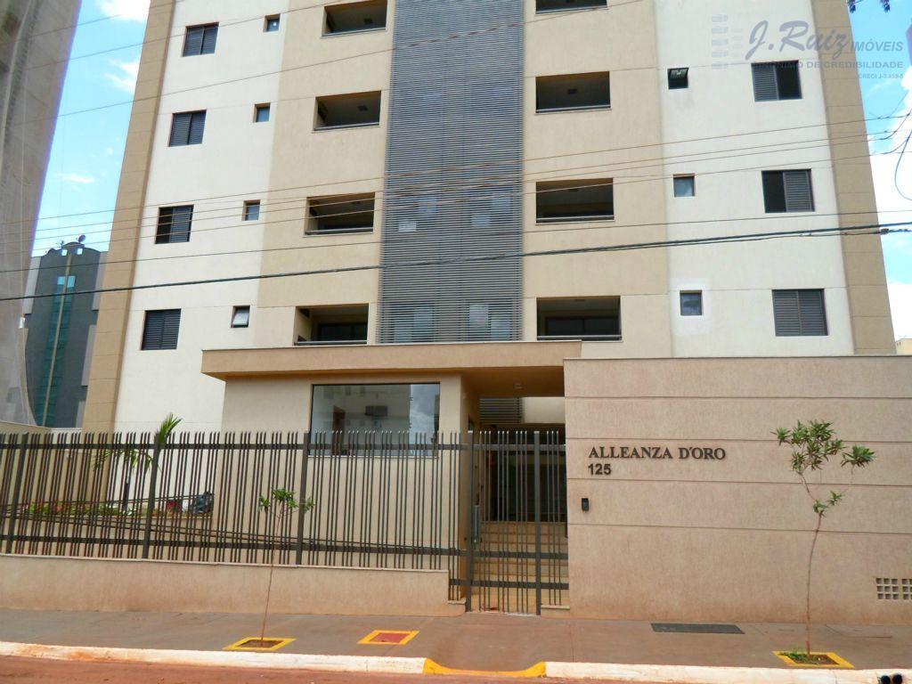 Apartamento residencial à venda, Nova Aliança, Ribeirão Preto - AP0034.