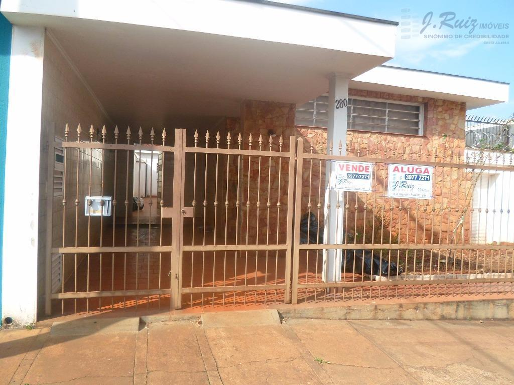 Casa residencial para venda e locação, Sumarezinho, Ribeirão Preto.
