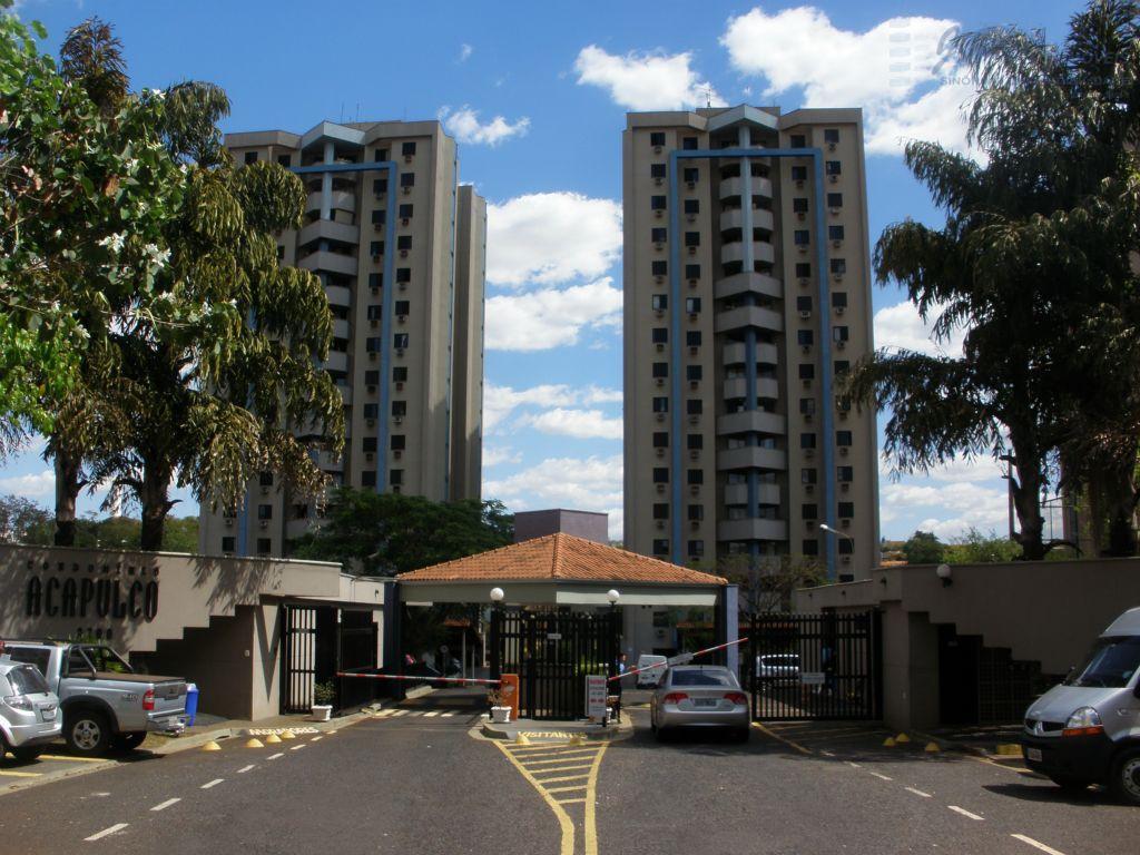 Apartamento  residencial para locação, República, Ribeirão Preto.