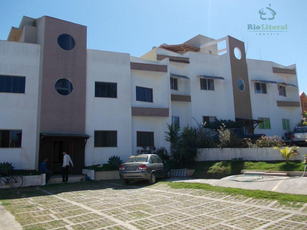 Apartamento residencial à venda, Colinas, Rio das Ostras - AP0122.