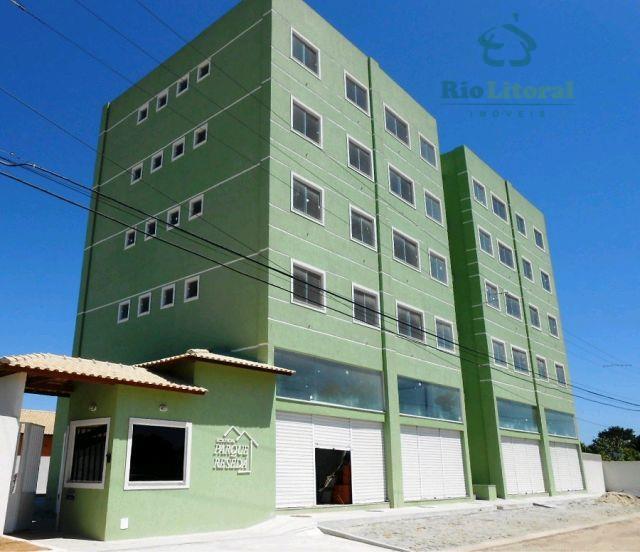Apartamento residencial à venda, Chácara Mariléa, Rio das Ostras.