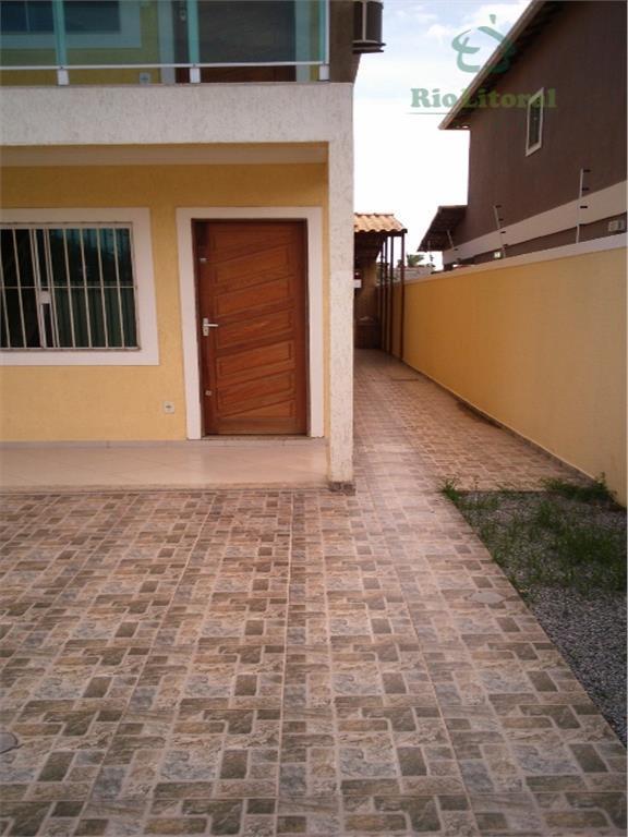 Excelente casa duplex com 3 qts no Jardim Bela Vista em Rio das Ostras