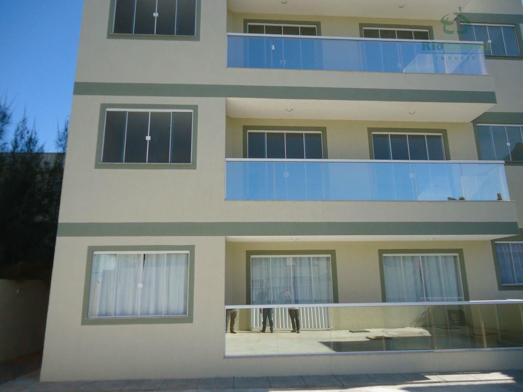 Apartamento residencial à venda, Extensão Serramar, Rio das Ostras.