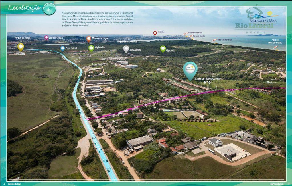 Excelentes terrenos em condomínio no Mar do Norte em Rio das Ostras