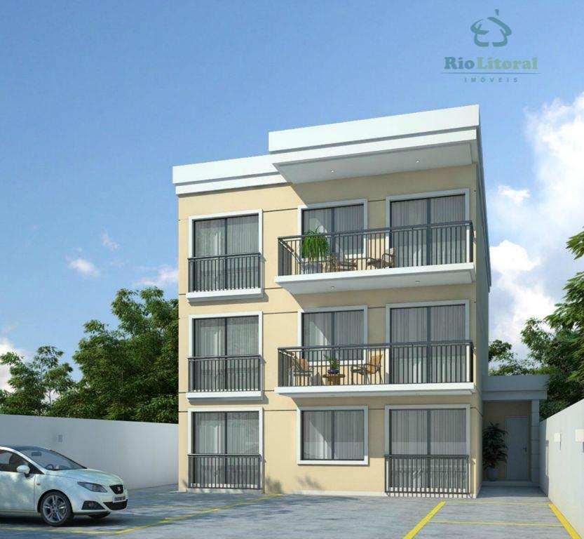 Apartamento residencial à venda, Costazul, Rio das Ostras - AP0197.