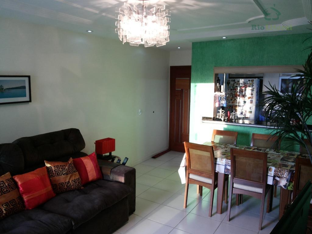 Apartamento residencial à venda, Jardim Mariléa, Rio das Ostras.