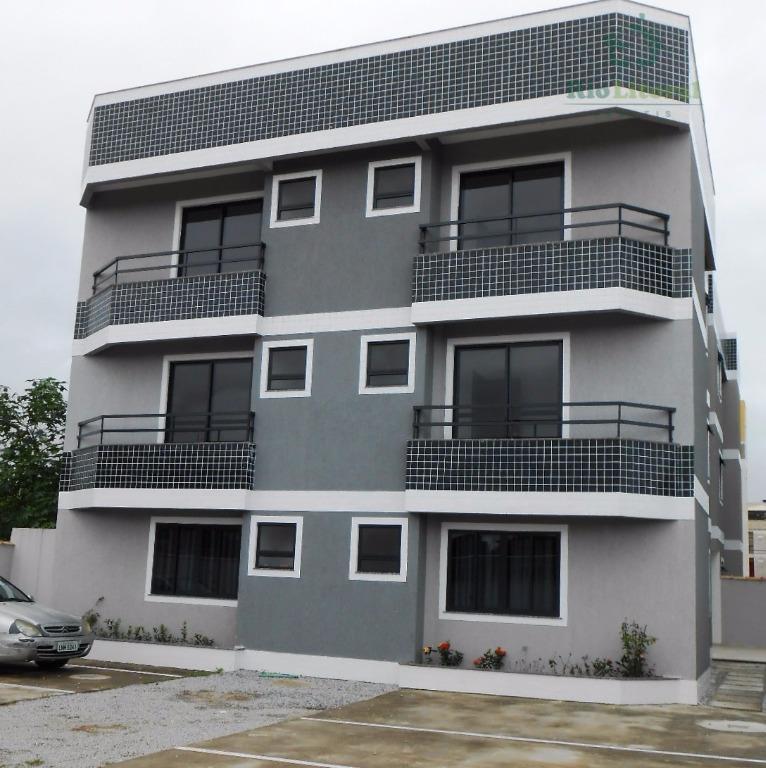 Apartamento com Terraço em Rio das Ostras.