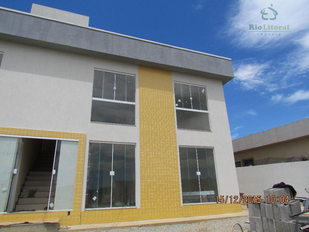 Apartamento residencial à venda, Recanto, Rio das Ostras.