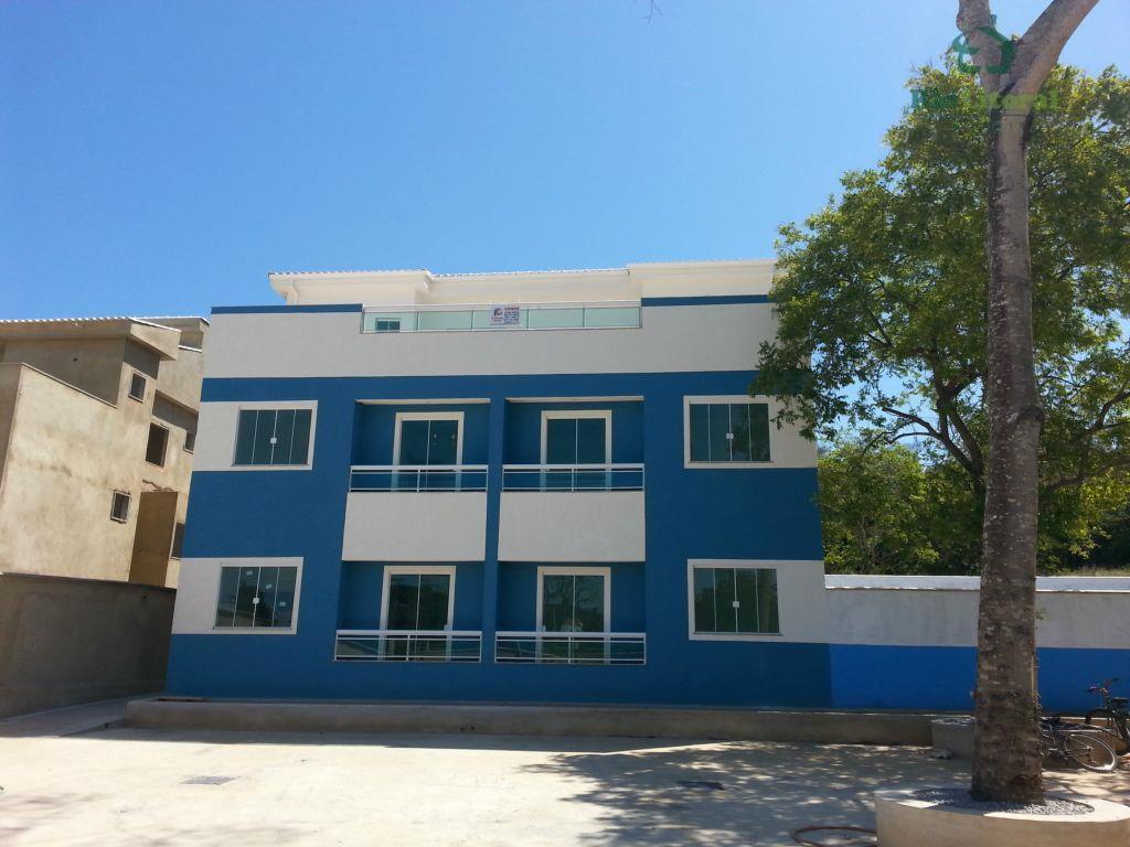 Apartamento residencial para locação, Recanto, Rio das Ostras.