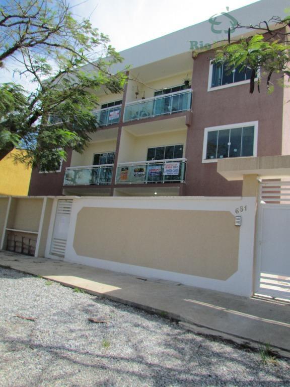 Apartamento residencial à venda, Serramar, Rio das Ostras.