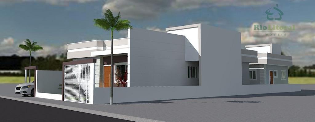 Casa residencial à venda, Recanto, Rio das Ostras.
