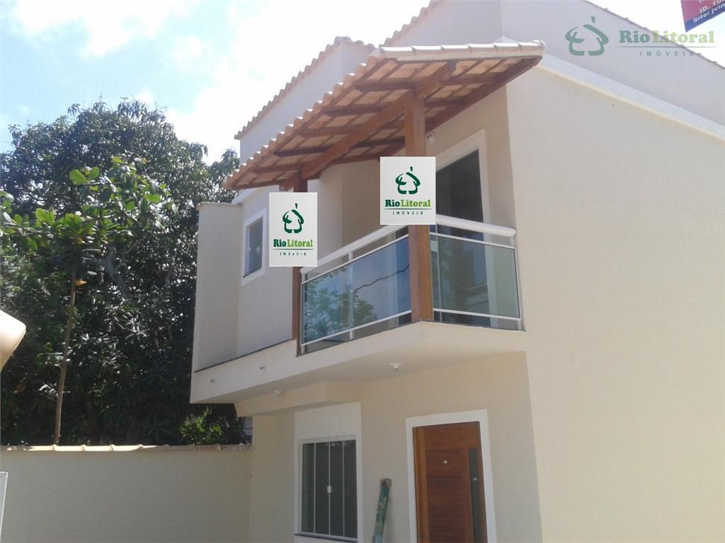 Novíssimo duplex independente, 3 suítes, bom padrão de acabamento- Costa Azul - Rio das Ostras