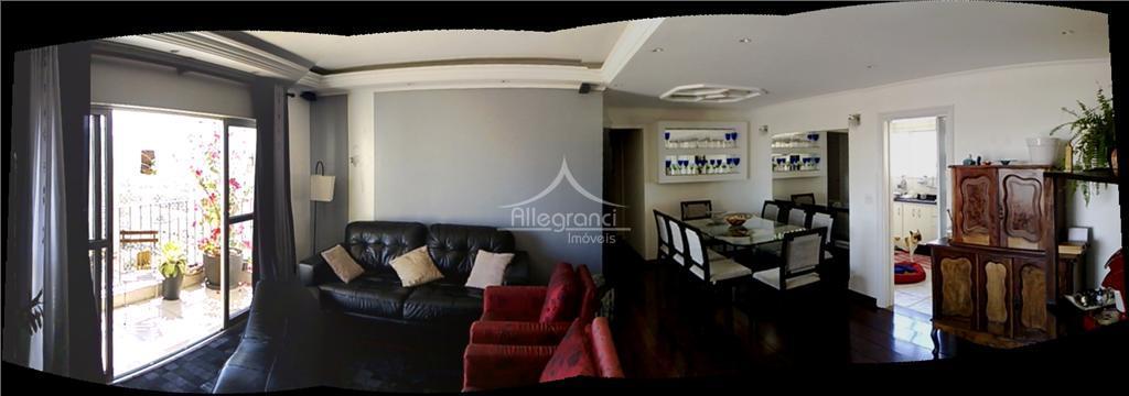 Apartamento residencial à venda, Belenzinho, São Paulo - AP0118.