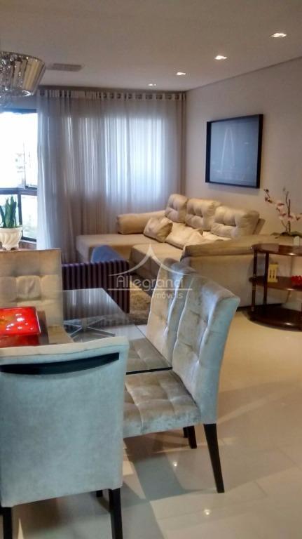 Apartamento residencial à venda, Tatuapé, São Paulo - AP1265.