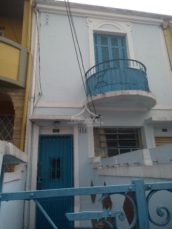 oportunidade sobrado com duas moradias parte de cima com 2 dormitorios,sala, cozinha 1 wc e area...
