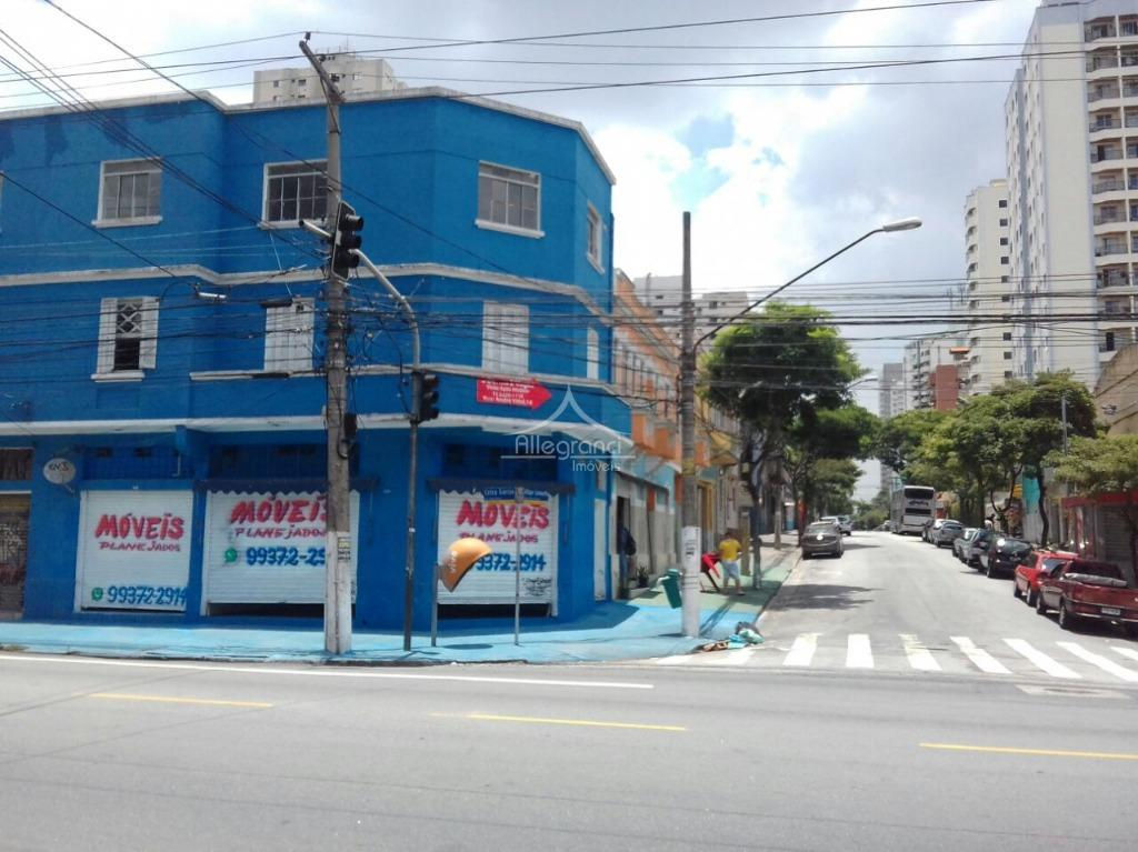 ponto comercial com 2 salões e 8 salas comerciais de esquina ,próximo ao metro tatuapé,esquina da...