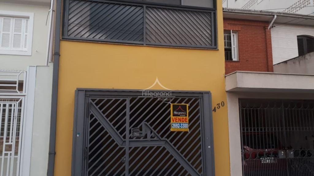 Casa com 2 dormitórios à venda, 120 m² por R$ 550.000 - Tatuapé - São Paulo/SP