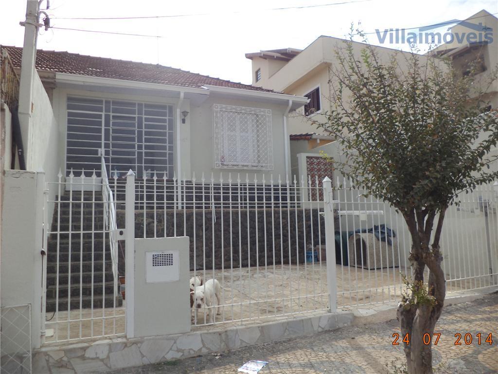 Casa residencial à venda, Vila Industrial, Campinas - CA0385.