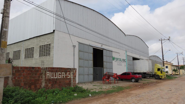 Galpão comercial para locação, Parque Santa Maria, Fortaleza - GA0011.