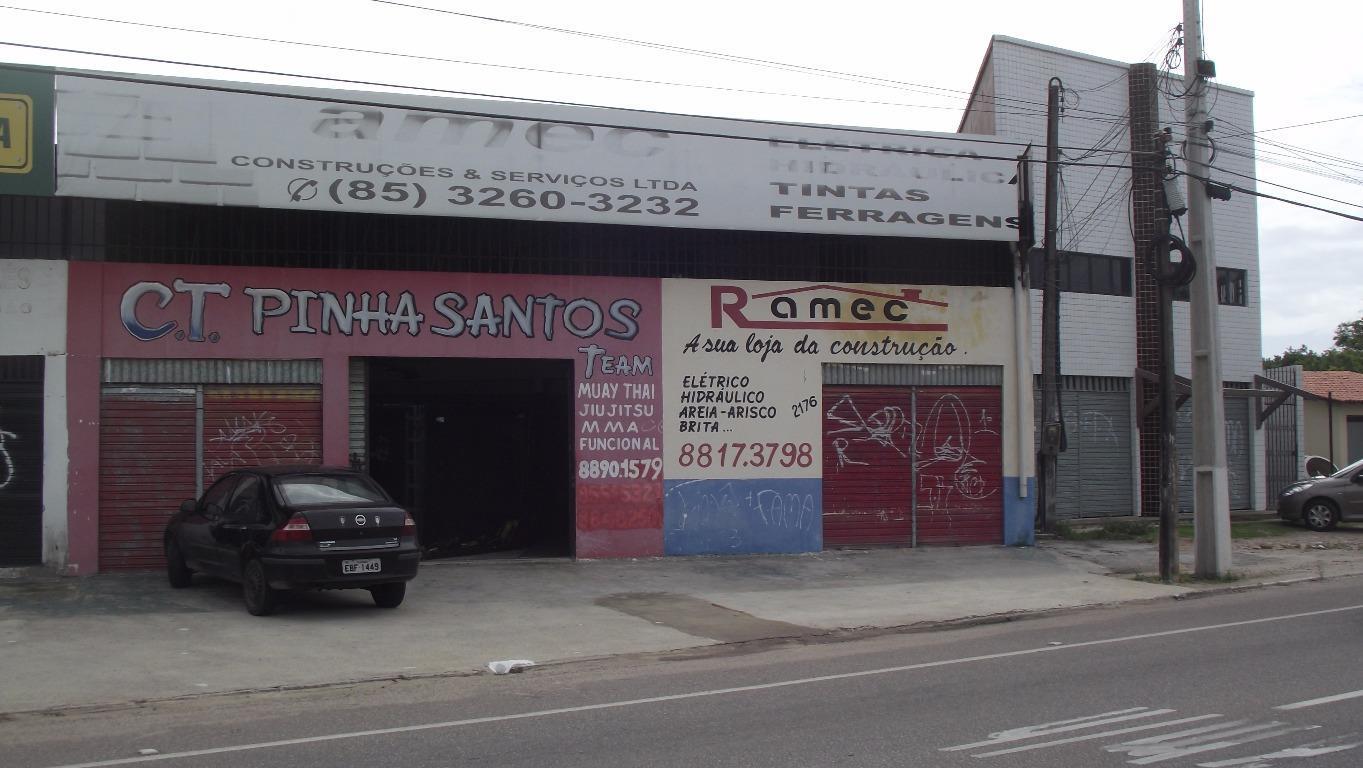 Ponto comercial para locação, Tamatanduba, Eusébio - PT0141.