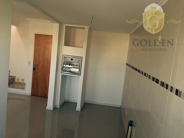ótimo apartamento duplex com 03 dormitórios, dois banheiros, duas salas, cozinha com churrasqueira, apartamento novo, nunca...