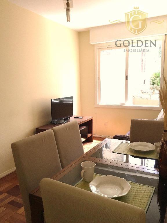 apartamento, 1 dormitório, centro histórico. na demétrio ribeiro. todo mobiliado. sala com dois ambientes. cozinha e...