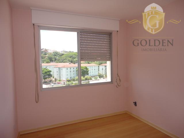 excelente apartamento no bairro cristal, na avenida chuí, 376. recém-reformado, pintado, piso de laminado e porcelanato,...