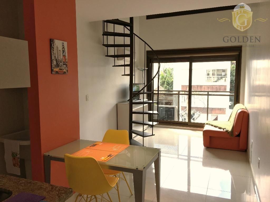 Apartamento residencial para locação, Rio Branco, Porto Alegre - FL0044.